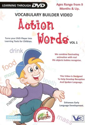 Little Learners Action Words Vol.1(DVD)  available at flipkart for Rs.125