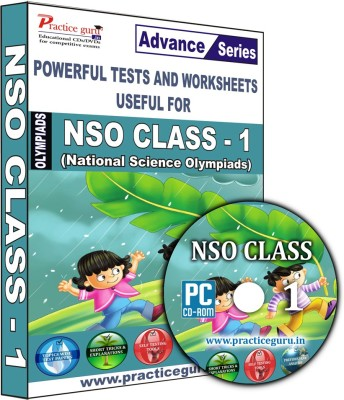 Practice Guru NSO Class 1(CD) at flipkart