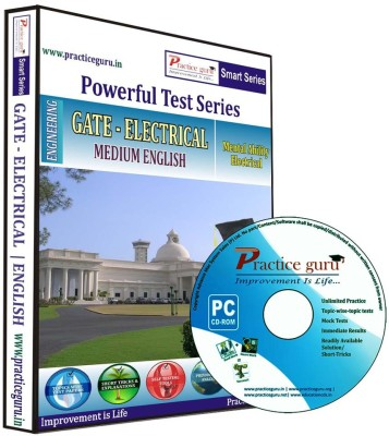 Practice Guru Powerful Test Series - GATE - Electrical Medium English at flipkart