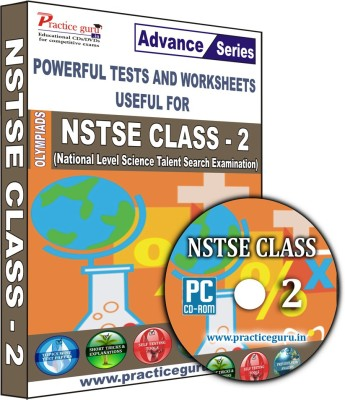Practice Guru NSTSE Class 2(CD) at flipkart