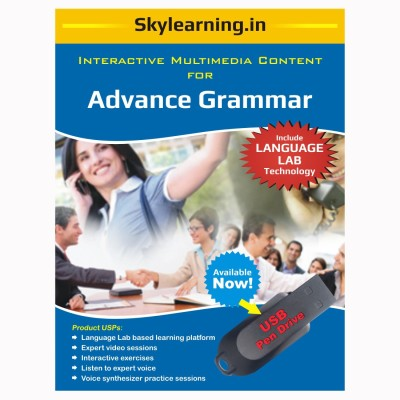 Skylearning.In Advance Grammar (Pen Drive)(Advance Grammar pendrive Combo Pack)  available at flipkart for Rs.1500