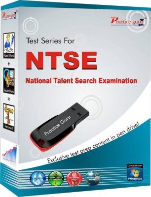 Practice Guru NTSE Class 10(Pen Drive)  available at flipkart for Rs.1040