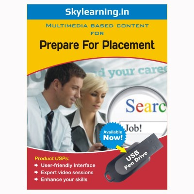 Skylearning.In Prepare for placement (Pen Drive)(Prepare For Placement pendrive Combo Pack)  available at flipkart for Rs.1399