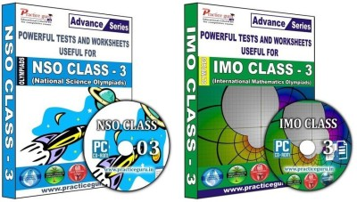 Practice Guru Class 3 - Combo Pack (IMO / NSO)(CD) at flipkart