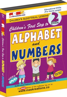 MAS Kreations First Step to Alphabet and Numbers(DVD)