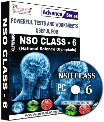 Practice Guru NSO Class 6(CD) at flipkart