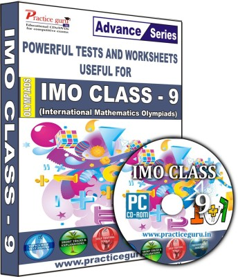 Practice Guru IMO Class 9(CD) at flipkart