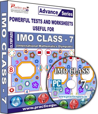 Practice Guru IMO Class 7(CD) at flipkart