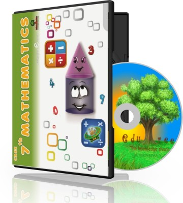 Edutree 7th Mathematics Cbse-Ncert Animated E Book (6-7 Hrs Duration)(3 Cd Pack -Prepared By Team Of Expert Teachers.)
