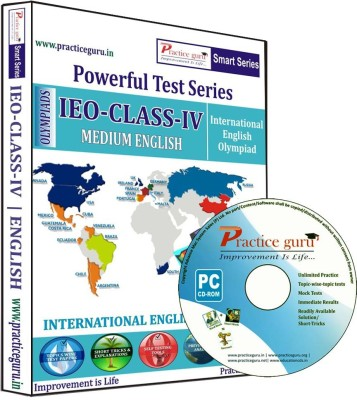 Practice Guru IEO Class 4  available at flipkart for Rs.540