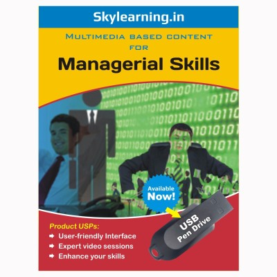 Skylearning.In Managerial Skills (Pen Drive)(Managerial Skills pendrive Combo Pack)  available at flipkart for Rs.1299