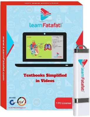 LearnFatafat CBSE Class 10 Video Course for Mathematics, Science and SST - 2 Yrs Validity(PenDrive) at flipkart