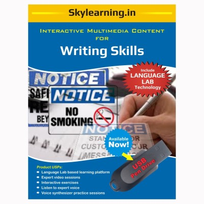 Skylearning.In Writing Skills (Pen Drive)(Writing Skills pendrive Combo Pack)  available at flipkart for Rs.1500