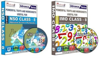 Practice Guru Class 8 - Combo Pack (IMO / NSO)(CD) at flipkart