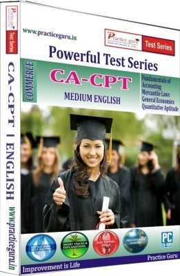 Practice Guru Powerful Test Series CA - CPT Medium English(CD)  available at flipkart for Rs.339