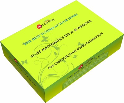M Learning Mathematics Video Lectures for XI Standard CBSE, IITJEE Mains and IITJEE Advance Level on Windows OS by M-Learning(External Hard Drive)