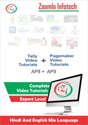 Zoomla Infotech Tutorial and Techniques of PageMaker and Tally ERP9 Training in Hindi(DVD/CD)
