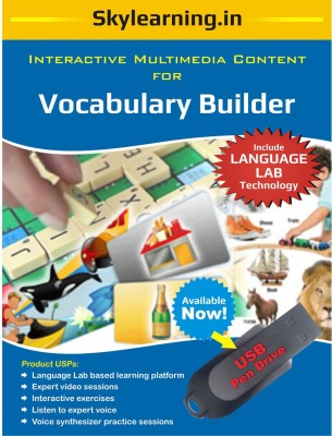 Skylearning.In Vocabulary Builder (Pen Drive)(Vocabulary Builder pendrive)  available at flipkart for Rs.1099