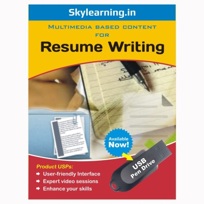 Skylearning.In Resume Writing (Pen Drive)(Resume Writing pendrive Combo Pack)  available at flipkart for Rs.1399