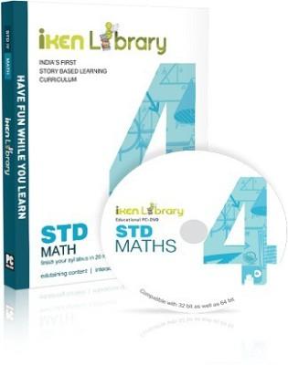 Iken Library DVD 4th Mathematics(DVD)