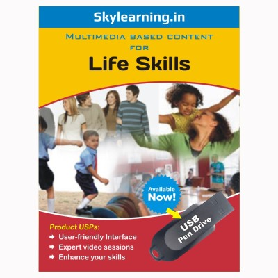 Skylearning.In Life Skills Pen Drive(Life Skills pendrive Combo Pack)  available at flipkart for Rs.1599