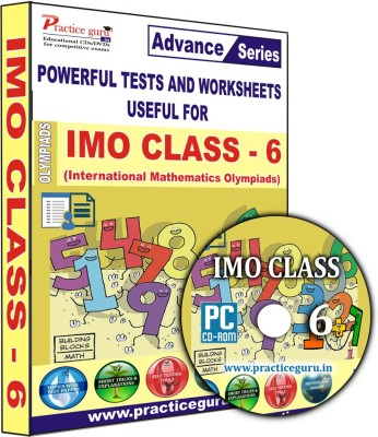 Practice Guru IMO Class 6(CD) at flipkart