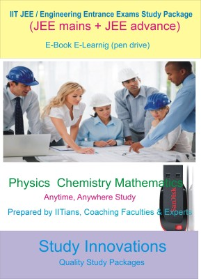 Study Innovations Iit Jee / Engineering Entrance Exam Complete Study Material(Pendrive)