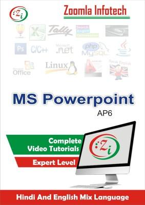 Zoomla Infotech MSPOWERPOINT-AP6/2016(DVD)
