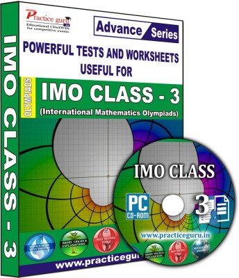 Practice Guru IMO Class 3(CD) at flipkart