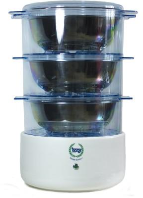 IZZY Cook3c Food Steamer, Rice Cooker, Travel Cooker(3.6 L, Blue)  available at flipkart for Rs.4000