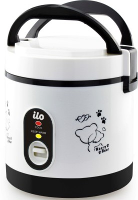 Ilo IHRC2001 Travel Cooker, Rice Cooker(0.6 L, Black)  available at flipkart for Rs.1249