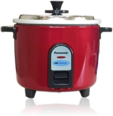Panasonic SR-WA10(Z9) Electric Rice Cooker(1 L, Burgandy)  available at flipkart for Rs.1825