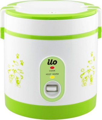 Ilo IHRC2002 Travel Cooker, Rice Cooker(0.6 L, Multicolour)  available at flipkart for Rs.1249