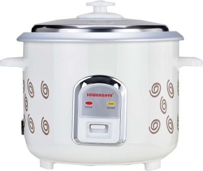 Sowbaghya Annam Electric Rice Cooker(1.8 L, White) at flipkart