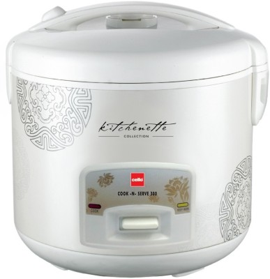 Cello-Cook-N-Serve-300-2.2-Litre-Rice-Cooker