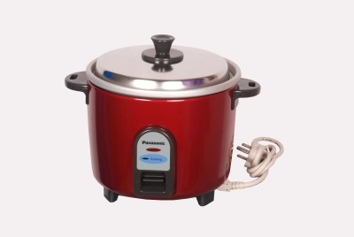 Panasonic SR-WA 18 (Z9) Electric Rice Cooker(1.8 L, Red)  available at flipkart for Rs.2199
