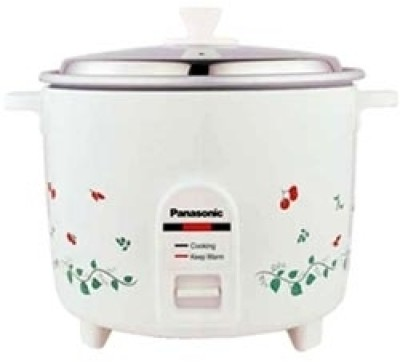 Panasonic SR WA 18H Electric Rice Cooker(1.8 L, White)  available at flipkart for Rs.2175
