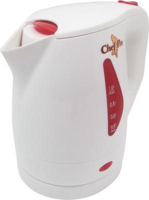 Chef Pro CPK 810R Electric Kettle(1 L, White)