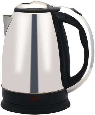 Wonder World ® Hot Water Pot Portable Boiler Tea Coffee Warmer Heater Cordless Electric Kettle(1.7 L, Silver)