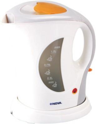 Nova KT 721C Electric Kettle(1 L)  available at flipkart for Rs.625