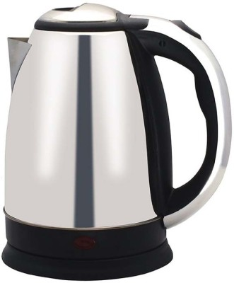 Wonder World ® 1.7L Stainless Steel Cordless Tea 1500W Electric Kettle(1.7 L, Silver)