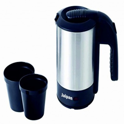 Jaipan VI-9011 Electric Kettle(0.5 L, Black, White)