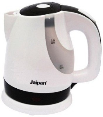 Jaipan JP-7001 Electric Kettle(1 L, Black, White)