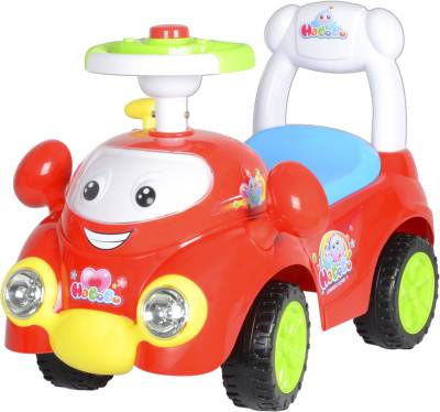 Toy House Ride on Bo Bo Activity Racer Push Red Car
