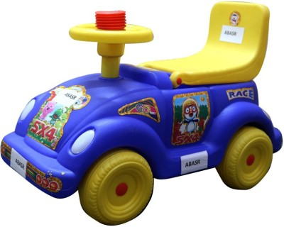 Abasr Car Non Battery Operated Ride On(Blue)