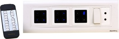 REINS Touch 5 One Way Electrical Switch(Pack of 2 Number of Switches - 8) Flipkart