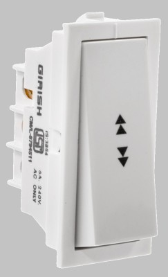 GIRISH 6 A Two Way Electrical Switch(Pack of 10 Number of Switches...