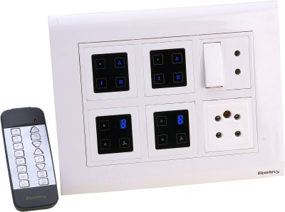 Reins Touch112 5 One Way Electrical Switch(Pack of 2 Number of Switches - 1) Flipkart