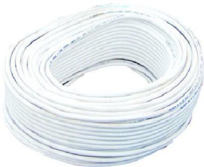 swaggers PLASTIC, COPPER 1 sq/mm White 90 m Wire(WHITE)