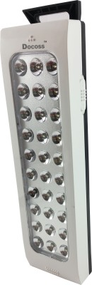 DOCOSS 30 Led Good Quality Bright Rechargeable Lamp Emergency Light(White)  available at flipkart for Rs.459
